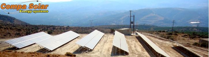 Φωτοβολταϊκός σταθμός 80kWp - Κρήτη 2011