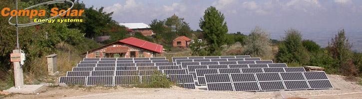 Φωτοβολταϊκός σταθμός 20kWp Όλυμπος 2008 (Παραδοσιακή Ολύμπου ΑΕΒΕ)